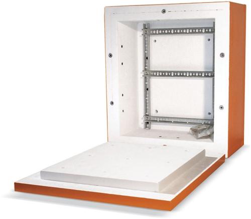 Datwyler Hercules-kast E30-E90, incl. rail tbv 13 LSA+ Afmeting 340 x 380 x 220mm