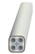 UCS LFH subduct system 4 x 5/3.5mm wit, 1000m