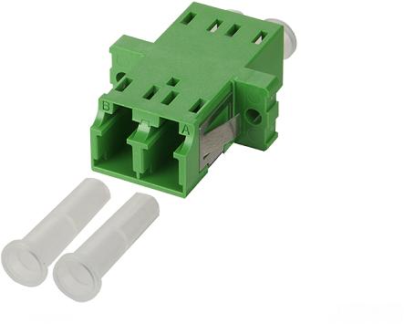 UCS Adapter OS2, LC/APC, duplex, groen