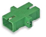 Diamond, Adapter SM, SC/APC, simplex groen OP=OP