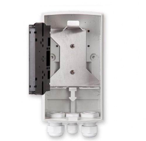 UCS, Glasvezel wandbox IP54, ORM 4, tbv. 4x SC/LCD