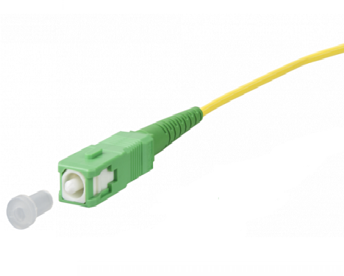 UCS, Pigtail OS2, SC/APC, 2,5m, geel, 2,4mm